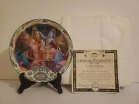 Knowles Wizard of Oz Collector Plate If I Were King Of The Forest W Certificate