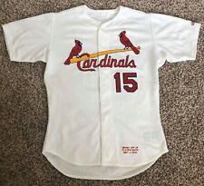 2000 Jim Edmonds Signed Game Used St. Louis Cardinals Jersey 9/4/00 vs Expos