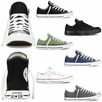 Converse Trainers - Chuck Taylor All Star Hi Low Top Assorted - UK 4-10
