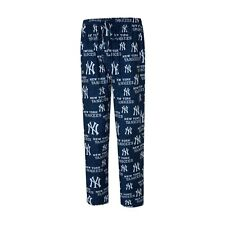 Men's New York Yankees Concepts Sport Royal Zest All Over Print Sleep Pants