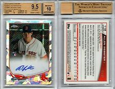 Allen Webster RC AUTO 2013 TOPPS CHROME ATOMIC REFRACTOR #'d /10 BGS 9.5/10