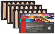 Caran D 'ache luminancia Artista Lápices De Color 76 Box Set permanente LFI 6901 776