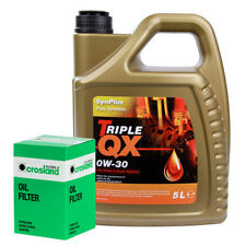 VOLVO XC90 D5 Oil Filter + Triple QX Fully Syntetic Plus 0W30 Engine Oil 5L