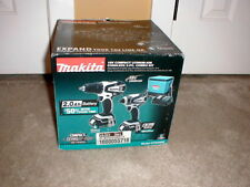 Makita 18V LXT  Li-Ion Drill Driver/Impact Driver Combo Kit CT200RW New