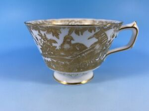 """Royal Crown Derby """"Gold Aves""""  Tea Cup.Excellent"""