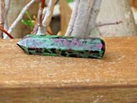 Rare Ruby Zoisite Crystal Wand - Omni New Age
