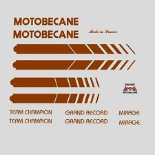 Motobecane Bicycle Frame Stickers - Decals - Transfers n.504