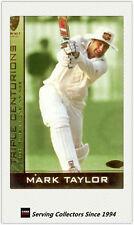 2004-05 Cricket Australia Trading Cards TRIPLE CENTURION TC3:MARK TAYLOR