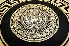 Versace Teppich Fabulous Tapete Versace Floral Grau Silbergrau