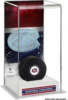 Montreal Canadiens Deluxe Tall Hockey Puck Case - Fanatics