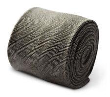 Cravates, nœuds papillon et foulards vert pour homme en 100% laine