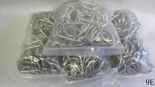 """Lot of Approximately 375 46mm / 1-7/8"""" Long Shiny D Rings for Straps / Purses"""