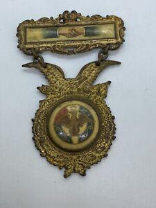 Vintage FOE Eagles Member Badge Medal