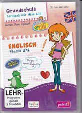 Grundschule Lernspaß mit Hexe Lilli Enlisch Klasse 3+4