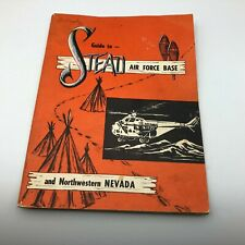 1970s Vintage Stead Air Force Base Nevada Guide Ads Advertising Rough   B5