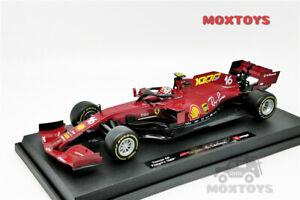 Bburago 1:18 F1 2020 Ferrari SF1000 Tuscan GP Ferrari's 1000th #16 C.Leclerc