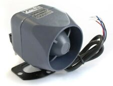 Single tone, battery back up siren 125dB 20W