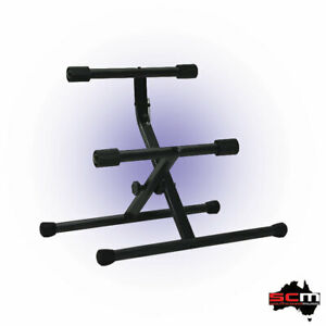 Guitar Amplifier Stand Tubular Steel mount Monitors Combo Amps Heavy Duty Stand