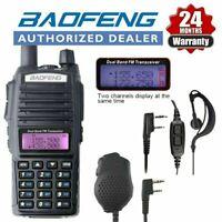 Baofeng UV-82 Dual PTT V/UHF Band Two-Way Radio Walkie Talkie VHF FM Ham Radios