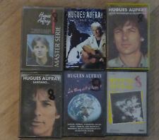 Lot de 6 Cassettes Tape K7 - HUGUES AUFRAY