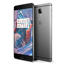 "OnePlus 3 A3003 Graphite 5.5"" 64GB 6GB Unlocked Android Smartphone Global- Grau"