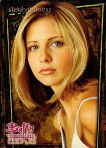 1998 Inkworks Buffy the Vampire Slayer Season Two Promo Card BP2 Sarah Michelle