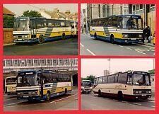 4 Photos ~ Hastings & District - Plaxton Paramount Tigers VSV564 etc 1991-94
