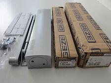 GEZE Türschließer TS 4000 inkl. Gestänge & Montagezubehör in Farbe silber
