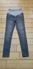 Grey Esmara Super Skinny Over Bump Maternity Jeans Size 10