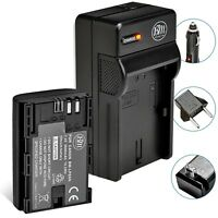 BM LP-E6N Battery & Charger for Canon EOS 5D II, EOS 5D III, EOS 5D IV, EOS 5Ds