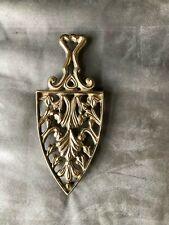 Vintage Brass Trivet,  Virginia Metal Crafters