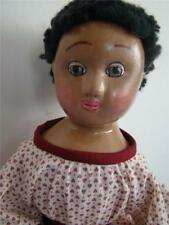 16 in. BLACK  IZANNAH WALKER reproduction doll, WITH WOOL HAIR