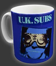 UK SUBS CHARLIE HARPER PUNK ROCK ANOTHER KIND OF BLUES FULL COLOUR LARGE MUG