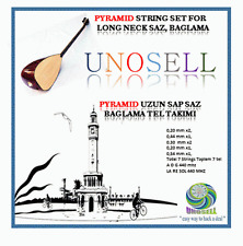 UNOSELL:: STRING SET FOR TURKISH STRING INSTRUMENT LONG NECK SAZ  0.20MM