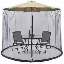 7.5 FT Umbrella Table Screen Enclosure Keep Bugs Mosquitoes Out Patio Picnic Net