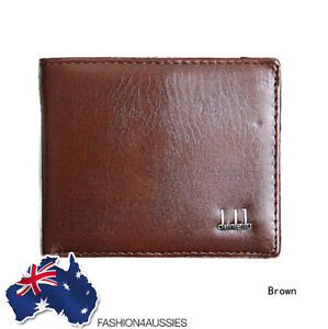 (COST PRICE!) WALLET MENS LEATHER BROWN ~ Class ~ Pocket Card Clutch Purse