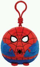 TY PELUCHE SPIDERMAN BALLZ Toy Beanie Boos Spider Man Plush Portachiavi Keychain