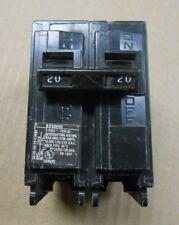 1 Used Siemens Bl B220Hid Circuit Breaker 20A 20 Amp 2P 2 Pole 240V 240 Volt