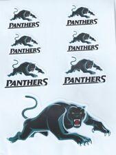 Penrith Panthers NRL UV Car Decal * 7 per sheet * New Logo