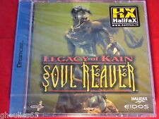 LEGACY OF KAIN SOUL REAVER DREAMCAST LEGACY OF CAIN SEGA DREAMCAST NEUF