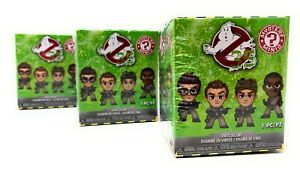 Ghostbusters Funko Mystery Minis Collectable Blind Box Vinyl Figures - 3 Pack