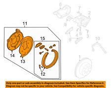 GM OEM Brake-Rear-Parking Brake Left 15842181