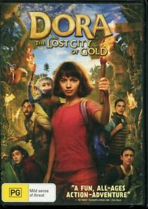Dora and the Lost City of Gold DVD NEW Region 4