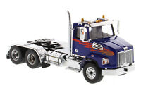 Western Star 4700 SF TANDEM TRACTOR Blue 1/50 DIECAST MASTERS 71039 NEW