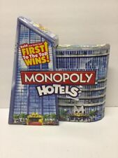 Monopoly Hotels Edition Game Hasbro Gaming 2012 New NIB