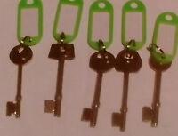 Mortise identification lock gauge keys locksmith era yale legge union lever door