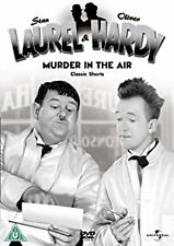 Laurel & Hardy Volume 6 Murder In The Air Classic Shorts Region 4 DVD VGC