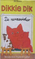 DIKKIE DIK - DE REUZEVIDEO - VHS - VERTELD DOOR FRANK GROOTHOF