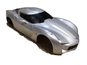 Corvette Stingray concept 2009 shell (1:16 scale), by Jada