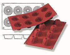 Silikonbackform Backformen Einzeltörtchen 8 x Gugelhupf Eisform Silikon Europa